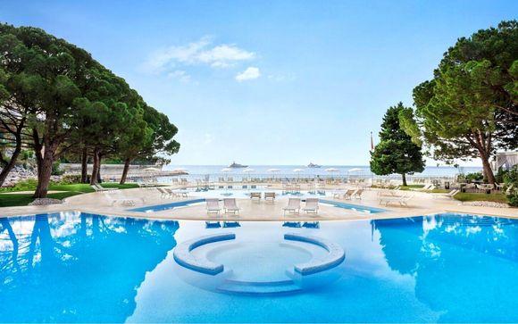 Spiaggia privata 4* sul mare di Monte Carlo