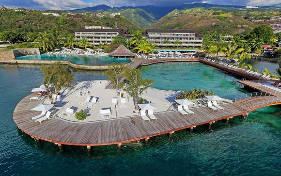 Poussez les portes du Manava Suite Resort Tahiti 4*