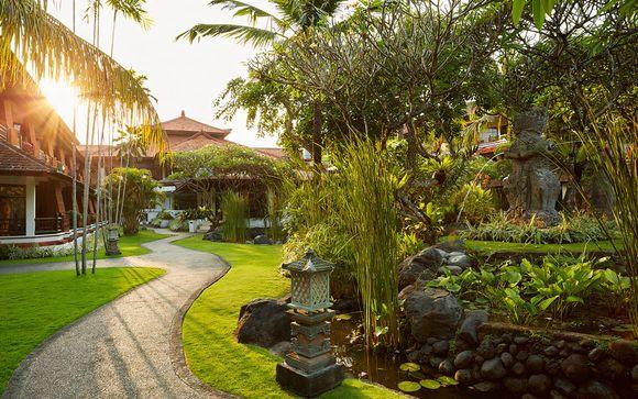 Poussez les portes de l'hôtel Sol Beach House Bali Benoa 5*