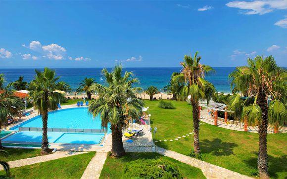 Hotel a due passi dalla spiaggia con pensione completa