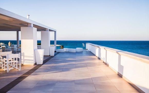 Meravigliose Suite in 4* con terrazza panoramica sul mare