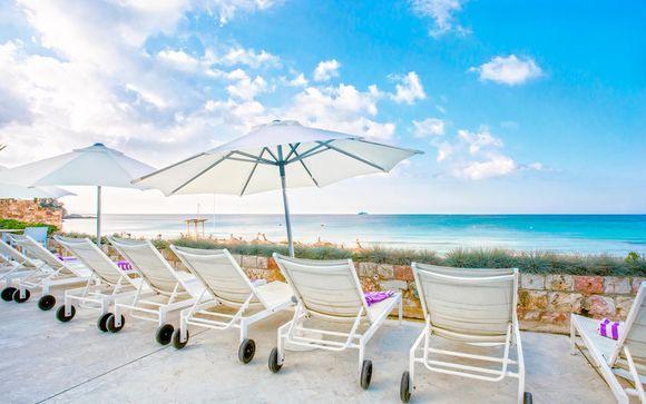 Relax mediterraneo con Spa e vista mare