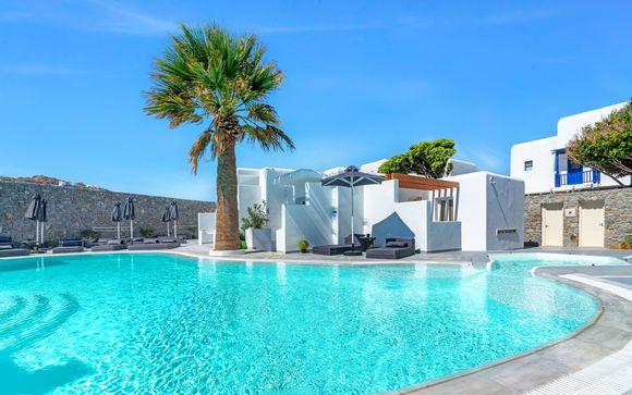 Gusto bohémien e relax a due passi dal mare di Paralia Korfos
