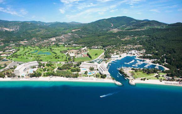 Vista mare e mezza pensione in prestigioso resort 5*