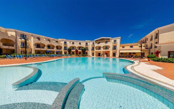 Lussuoso Hotel incastonato tra le acque cristalline de La Maddalena