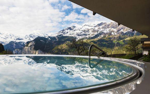 Oasi di relax con vista panoramica sulla Jungfrau