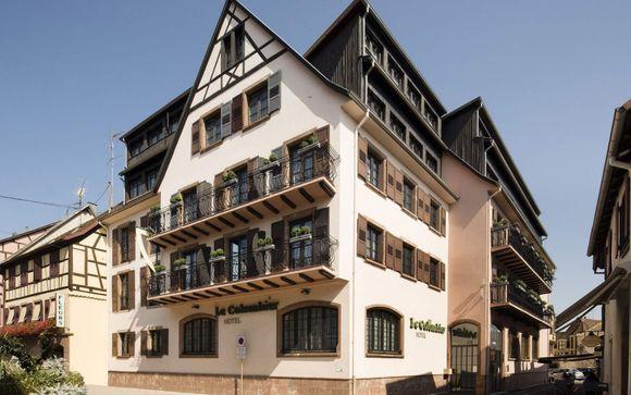 L'Hotel le Colombier Obernai