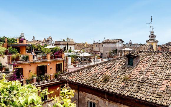 5* nel centro storico di Roma con escursioni incluse