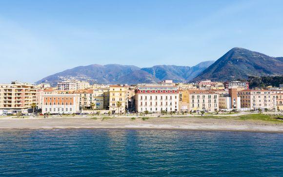 Hotel storico con vista sul Vesuvio