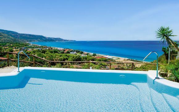 Soggiorno vista mare in Resort 4* con spiaggia privata