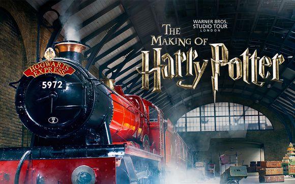 Billet d'entrée au parc Harry Potter Warner Bros Studio Tour
