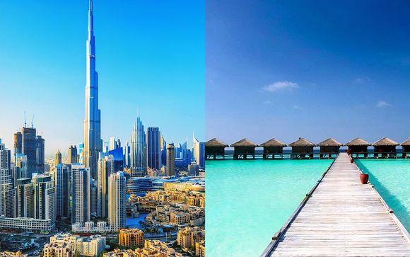 Bienvenue à Dubaï et aux Maldives
