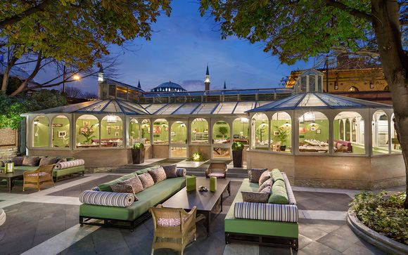 Hagia Sofia Mansions Istanbul 5*, Curio Collection by Hilton