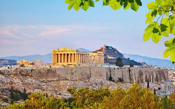 Vacanza per soli adulti con panorami sul Tempio di Zeus