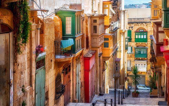 Willkommen in... Malta!