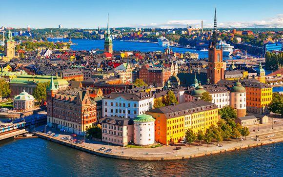 Design ed eleganza a 4* nella capitale della Svezia