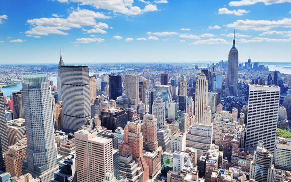 Hotel in centro con rooftop e vista sull'Empire State Building