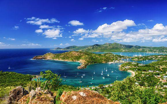 Isla Antigua, en Antigua y Barbuda, te espera