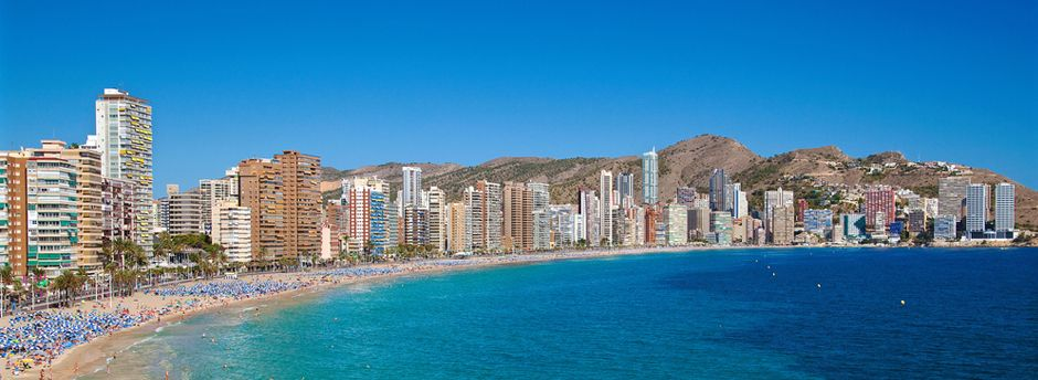 Weekends in Benidorm